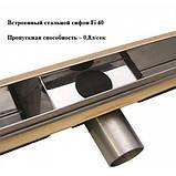 Душовий канал Cedor Super Slim під плитку 80 см, фото 5
