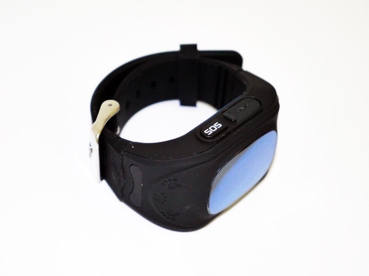 Часы с GPS трекером Q50 (GW300) Оригинал Black