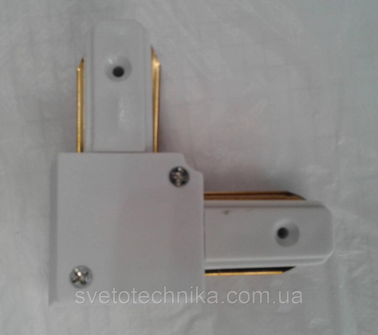 Feron LD1001 белый Коннектор угловой