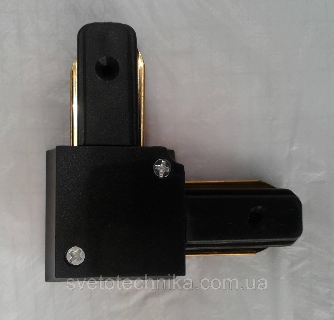 Коннектор угловойFeron LD1001 черный