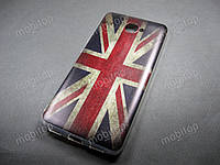 Силиконовый TPU чехол Huawei Y7 2017 (British Flag), фото 1