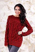 Модный женский свитер вязанный ВС-1095  Тон 22