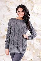Женская кофта вязанная Свитер ВС-1095  Тон 23