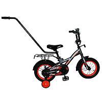 """Детский велосипед с ручкой Crosser Street 12"""""""