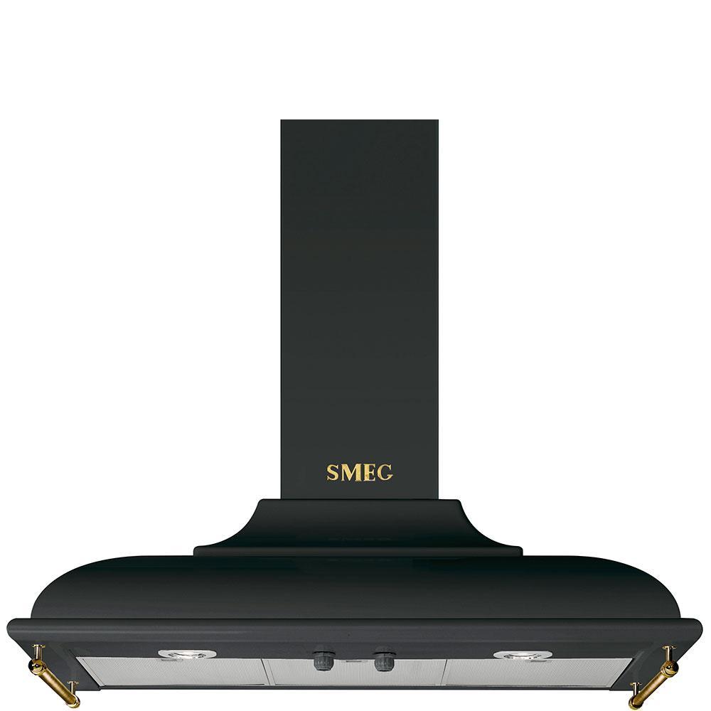 Вытяжка настенная Smeg KC19AOE черная