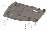 Защита двигателя Део Гентра / Daewoo Gentra 2013-