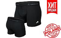 Спортивные трусы мужские Radical Bomber, термотрусы-боксеры, термобоксерки (черные)