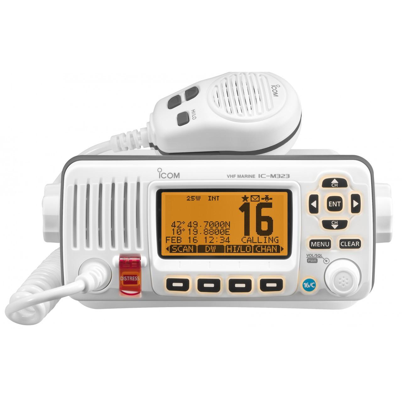 Морская радиостанция ICOM IC-M323G  (Бортовая , стационарная)