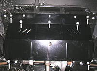 Защита двигателя Фиат Скудо / Fiat Scudo 2007-2016, фото 1