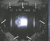Защита двигателя Хонда СР-В / Honda CR-V III 2007-2013