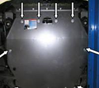 Защита двигателя Хюндай Коуп / Hyundai Coupe GK (Tiburon) 2002-2008, фото 1