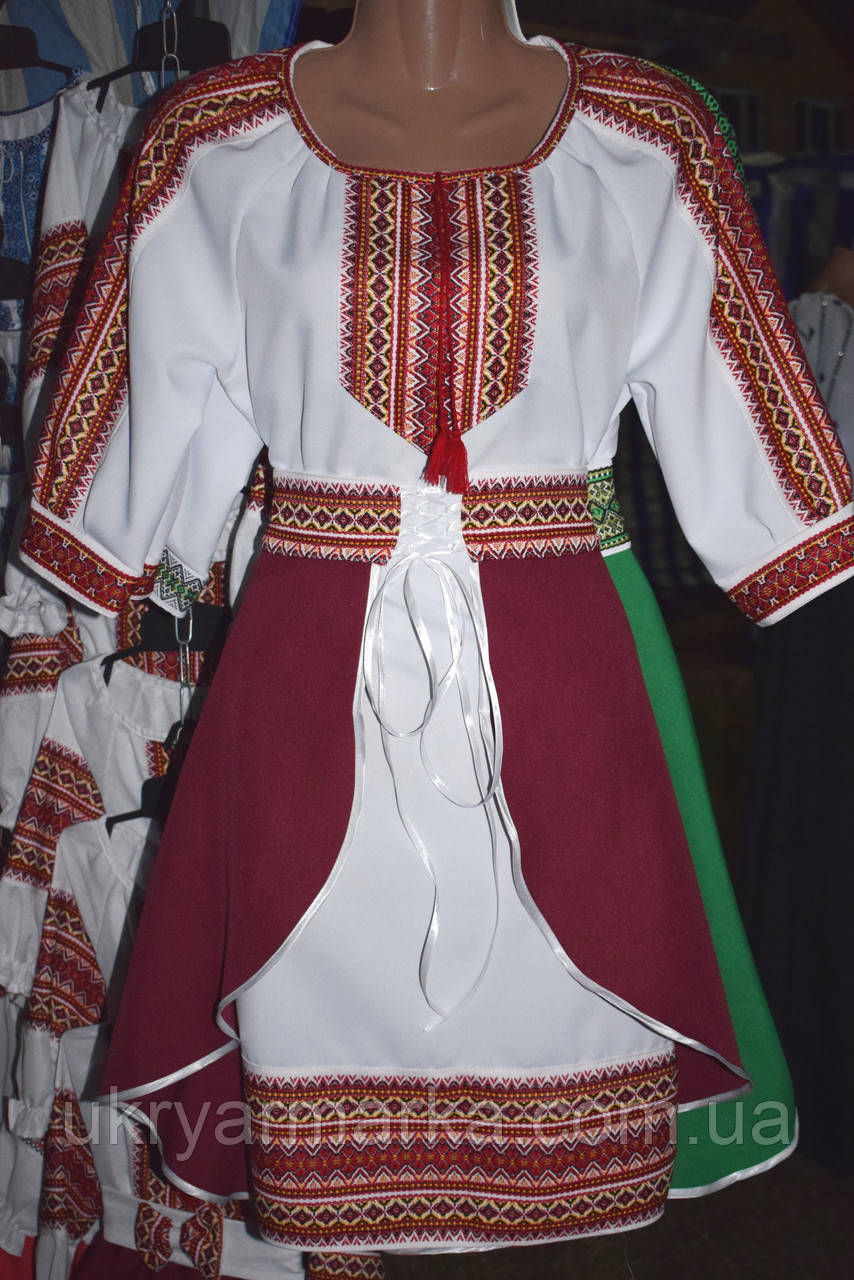 Костюм в українському стилі