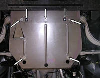 Защита двигателя Ягуар Х Джйе 6 / Jaguar XJ6 2003-2009