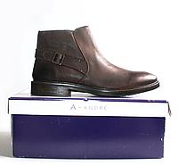 Мужские ботинки ANDRE оригинал натуральная кожа 43