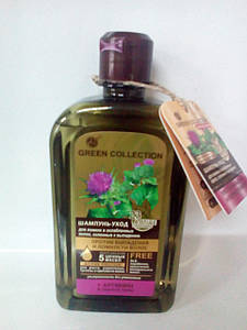 """Шампунь-уход """" Против выпадения и ломкости волос"""" Green Collection 500мл (3176)"""