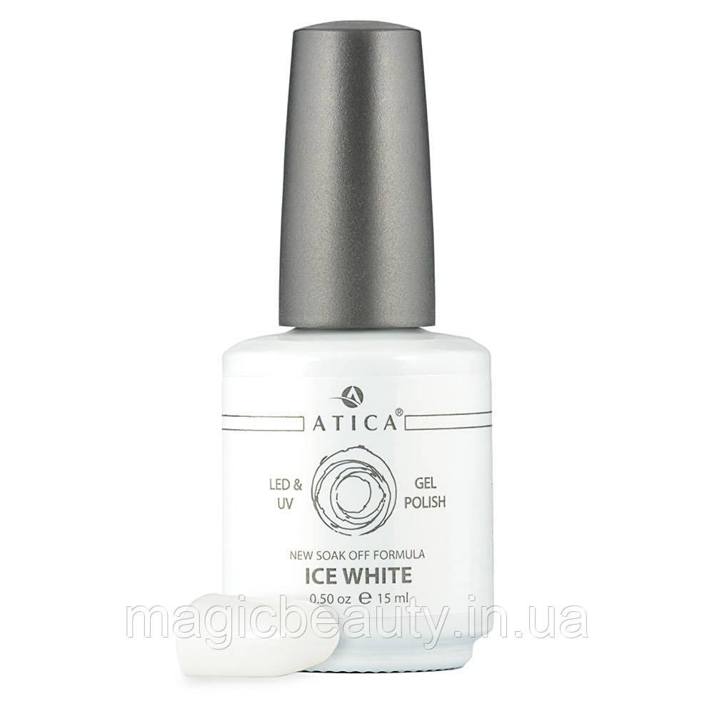 Гель-лак Atica Ice White 01, 7,5 мл