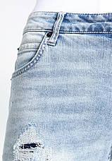 Мужские светлые джинсы skinny Dexter от !Solid (Дания) в размере W33/L32, фото 3