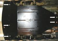 Защита двигателя Мерседес-бенц Вито / Mercedes-Benz Vito D (W 639) 2004-, фото 1