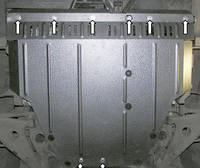 Защита двигателя Митсубиши Галант / Mitsubishi Galant IX 2003-2012