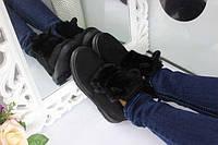 "Женские ботинки на танкетке зимние ""Ушки"""