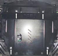 Защита двигателя Ниссан Х-Треил / Nissan X-Trail III 2014-, фото 1
