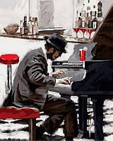 Раскраска по номерам DIY Babylon Блюз зимнего вечера (VP794) 40 х 50 см