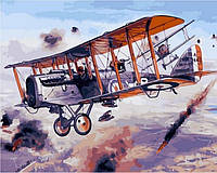 Картина по номерам DIY Babylon Воздушный бой (VP829) 40 х 50 см