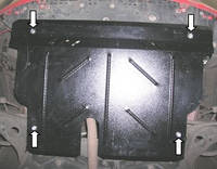 Защита двигателя Тойота Ярис / Toyota Yaris II 2006-2010, фото 1