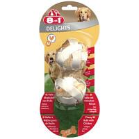 8in1 DELIGHTS Balls M 2 шт - шарики с мясом - лакомства для собак