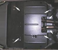 Защита двигателя Вольво ХС90 / Volvo XC90 2003-2006