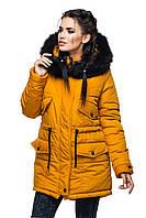Зимняя куртка  отличного качества размер плюс