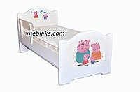 Кроватка детская эксклюзив Свинка Пеппа