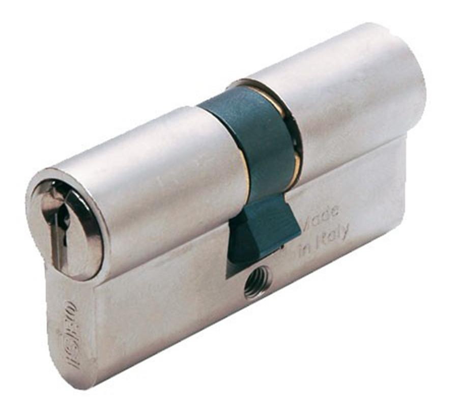 Iseo F5 80мм 30х50 ключ/ключ никель (Италия)