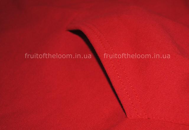 Красная   детская классическая толстовка с капюшоном