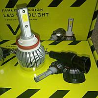 Светодиодная автолампа V1 LED H11  3600LM DC9-30V ближний свет 20Вт  (цена за 1шт)