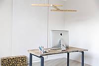 Деревянная люстра, светильник LED, дизайнерские люстры, светильник потолочный, дизайн, массив дерева - Solo