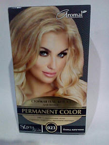 """Гель-фарба для волосся """"Славия"""" тон блонд капуччино (код відтінку 023)"""