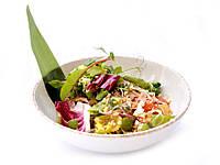 Рецепт салата с рисовой лапшой