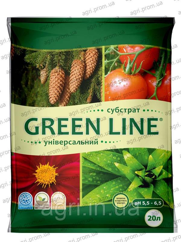 """Субстрат """"GREEN LINE"""" Универсальный, 20л"""