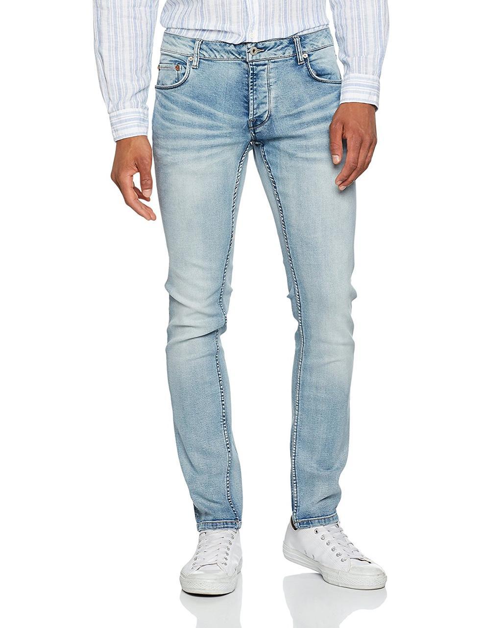 15026661ca3 Мужские светлые джинсы skinny Dexter от !Solid (Дания) в размере W33 ...