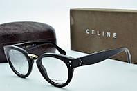 Женская оправа Celine овальная черная