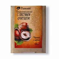 """Натуральный шоколад на меду """"С лесным орехом"""""""
