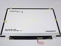 "Экран, дисплей 14.0"" AUO B140RW02 V.1 LED SLIM ( Ушки сверху снизу, Глянцевая,  1600*900, 40pin справа внизу ). Экран для ноутбука с диагональю 14"""