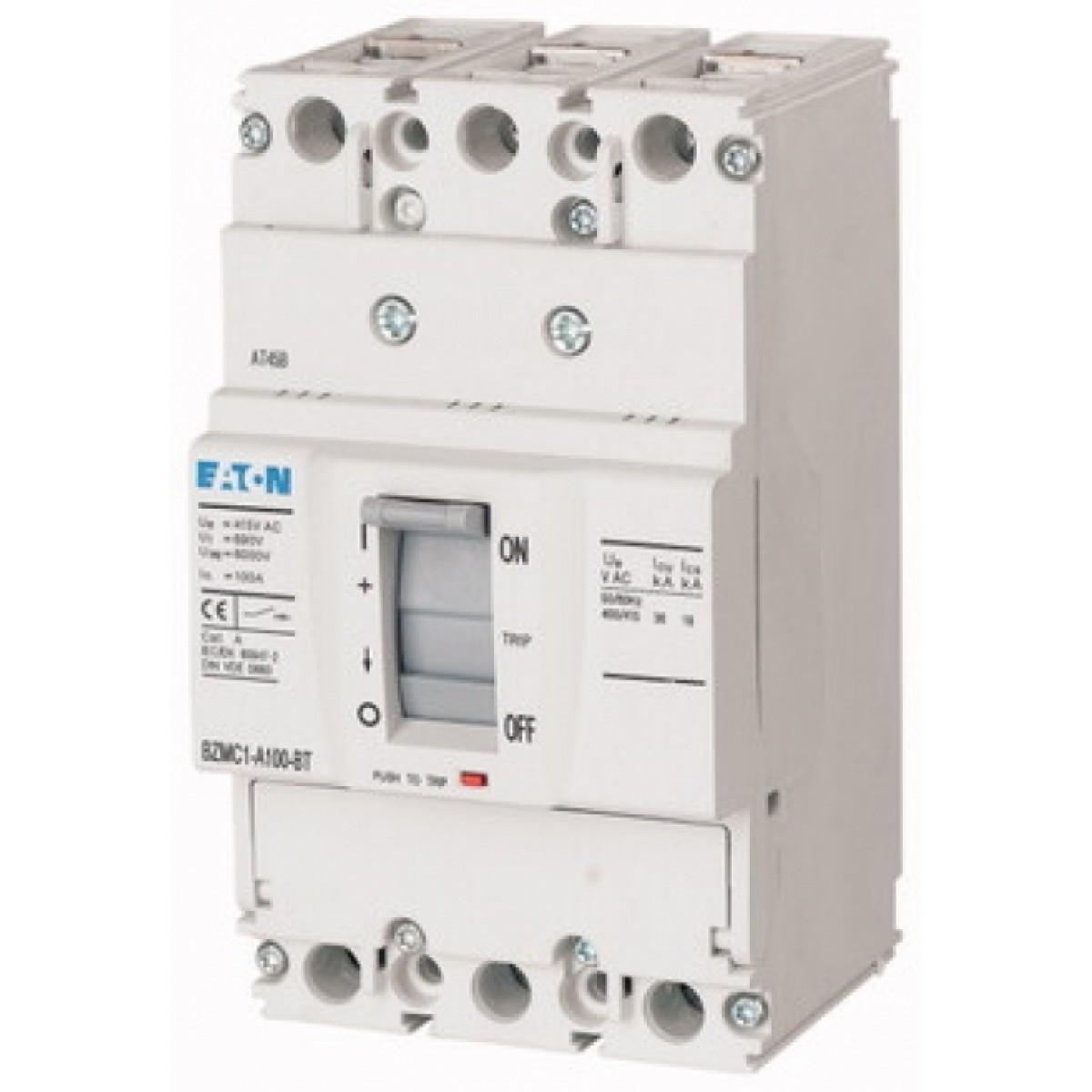 Вимикач автоматичний BZMB1-A100-BT (100А 25кА) Eaton (109759)