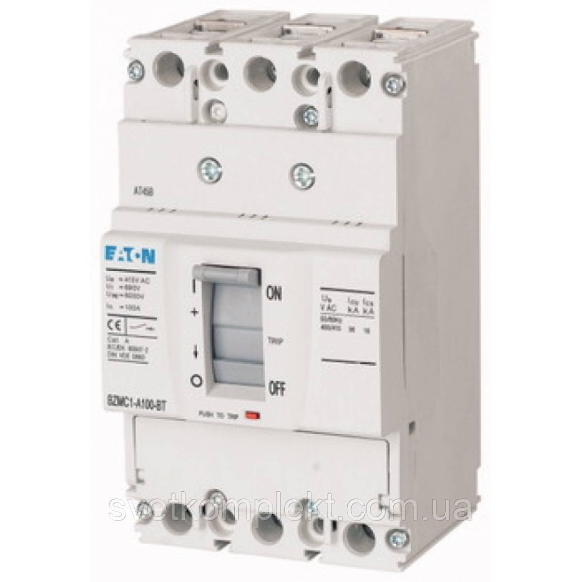 Вимикач автоматичний BZMB1-A100 (100А 25кА) Eaton (109732)