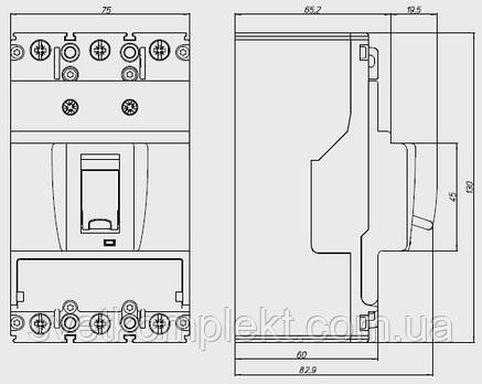 Вимикач автоматичний BZMB1-A100 (100А 25кА) Eaton (109732), фото 2