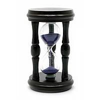 Часы песочные в дереве (12,5х7х7см)