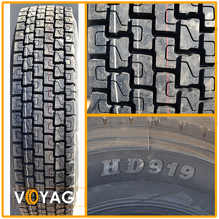Грузовая шина Fronway HD 919 (Ведущая) 215/75 R17.5, фото 2