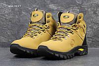 Желтые Timberland ботинки зимние с мехом Вьетнам