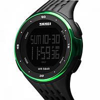 Часы водонепроницаемые спортивные Skmei Black DG1219BOXGN